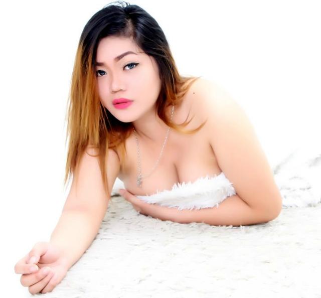 cam girl in white